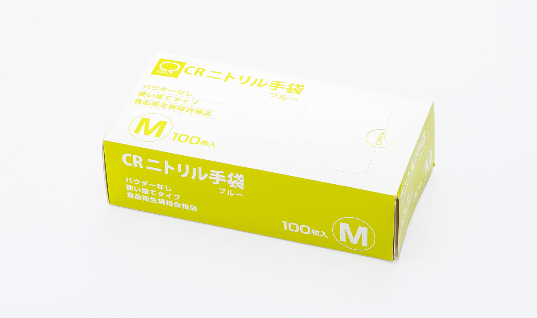 CRニトリル手袋【M】